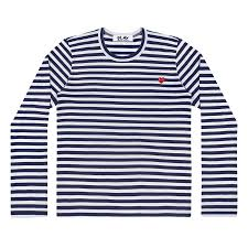 <b>LONG SLEEVE STRIPED</b> T-SHIRT WITH MINI <b>EMBROIDERED</b> ...