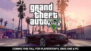 <b>Grand Theft</b> Auto V: <b>PlayStation 4</b>, Xbox One & PC Announcement ...
