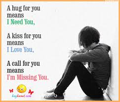 Missing You Quotes and Sayings and I Miss You Text Messages - Boy ...