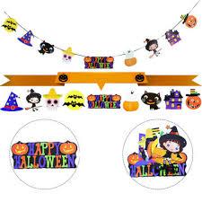 <b>halloween hanging</b> paper <b>ghost</b> pumpkin funny door hanger ...