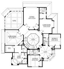 Big Houses PlansLarge southern brick house plan by max fulbright designs  square feet  bedrooms  ½ batrooms  parking space  on