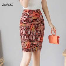 <b>Womens</b> Long Pencil Skirt Knee Length Fashion <b>Summer OL</b> Sexy ...