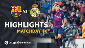 Resumen de FC Barcelona vs Real Madrid (5-1) - YouTube
