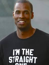 Looks like Jarron Collins, the twin brother of Jason Collins, is able to have some fun with Jason's groundbreaking announcement that he is gay. - jarron-collins-photo