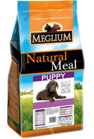 <b>MEGLIUM MEGLIUM</b> PUPPY for puppies of all breeds with chicken ...