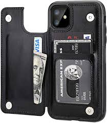 iPhone 11 Wallet Case with Card Holder,OT ONETOP ... - Amazon.com