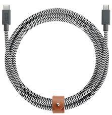 Кабель Native Union Belt Cable, <b>USB</b> Type С - <b>USB</b> Type C, 2,4 м ...