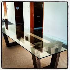 base glass dining table