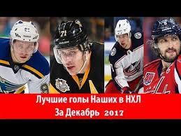Лучшие голы Российских хоккеистов в НХЛ : Декабрь 2017 ...