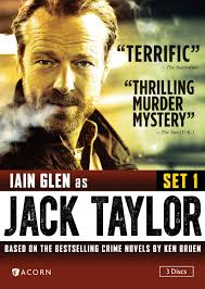 Jack Taylor DVD Cover Hardboiled crime fiction readers (and writers) here in the U.S. have a real treat this week. Jack Taylor, the burnt-out, bombed-out, ... - Jack-Taylor-DVD-Cover