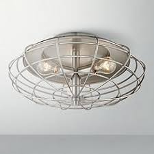 industrial cage nickel 8 12 high ceiling light fixture ceiling lighting fixtures home office browse