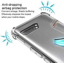 asus Rog Phone 2 Mobile Phone cover Four-corner <b>airbag anti</b> ...
