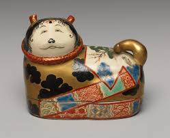 ese weddings in the edo period essay one of a pair of incense boxes in the shape of dog charms