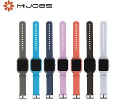 Online Shop <b>Mijobs</b> 20mm Sports Silicone Wrist <b>Strap</b> for <b>Xiaomi</b> ...