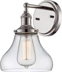 charming vintage incandescent one light wall sconce by nuvo lighting for bathroom lighting ideas bathroom track lighting 1