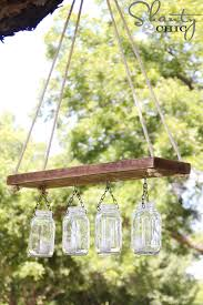 mason jar chandelier part 3 shanty 2 chic build diy mason jar chandelier