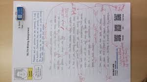 gallery andrew s ielts studio  sample corrected writing task two page 1