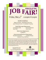 job fair flyer postermywall template la costa glen 5 4 aicasd it