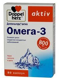 <b>Доппельгерц актив омега</b>-<b>3</b> капс. 1,366г №80 — купить по ...