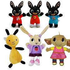 Animal Friends Bing Bunny Toy, Red Bunny Rabbit Bear <b>Panda Fox</b> ...