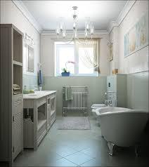 beauty log cabin style bathroom