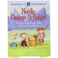 Nordic Naturals, <b>Nordic Omega-3 Fishies</b>, <b>Yummy</b> Tutti Frutti Taste ...