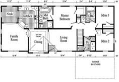 Awesome House Plans Ranch   Traditional Ranch House Plans        Amazing House Plans Ranch   Ranch Style House Floor Plan Design