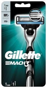 Бритвенный <b>станок Gillette Mach3</b> — купить по выгодной цене на ...