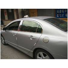 <b>lsrtw2017</b> 304 <b>stainless steel car</b> window trim for honda civic 2006 ...