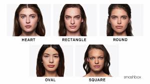how to figure out your face shape for contouring by smashbox cosmetics sephora you