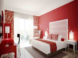 red wall paint black bed: red and black paris themed bedroom in addition red white and black