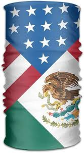 Bandana Headband American Mexican Flag <b>Multifunctional Magic</b> ...