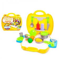 <b>Чудо</b>-<b>чемоданчик</b> Кухня 21 предмет <b>ABtoys</b> — купить в Москве в ...