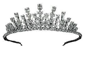 Small Picture Tiara of Princess Grace of Monaco 1976 in Design of Princess Crown
