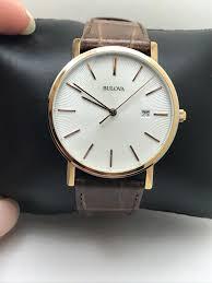 Наручные <b>часы Bulova</b> Men's <b>98H51</b> Quartz Rose Gold Case ...