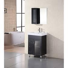 element contemporary bathroom vanity set: design element oslo  inch modern bathroom vanity set free shipping today overstockcom