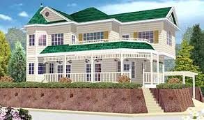 Custom Home Plans by Asis Leif Designs  Unique Luxury Victorian    Exterior View