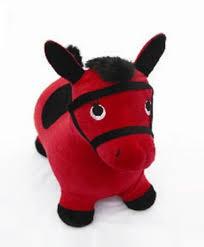 Лошадка-попрыгунчик <b>Shantou Gepai</b> Наша игрушка красный ...