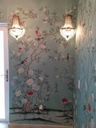 <b>Hand Painted</b> Cherry Blossom Trees Wallpaper Wall Mural, Hand ...