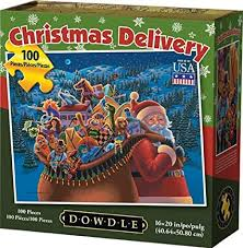 Dowdle Jigsaw Puzzle - <b>Christmas</b> Delivery - <b>100 Piece</b>