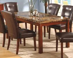 Marble Top Kitchen Table Set Marble Top Dining Table Mo 8812tb