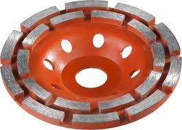 <b>Чашка алмазная шлифовальная</b> по бетону 115мм <b>Зубр</b> 33376-115