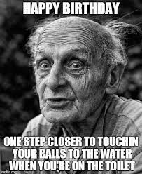 Happy Birthday Funny Meme for Guys | Memes | Pinterest | Birthday ... via Relatably.com
