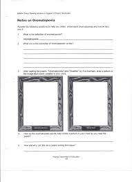 th grade lessons middle school language arts help onomatopoeia worksheet 1