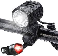 Super Bright Bike Light USB Rechargeable, Te-Rich ... - Amazon.com