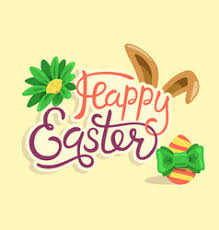 <b>Happy Easter Words Eggs</b> Vector Images (over 430)
