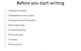 how to start writing a essay How To Start A Conclusion In An Essay General Writing Tips Essay