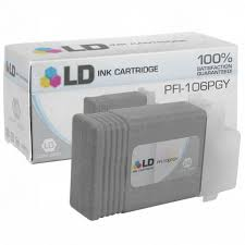 <b>Canon PFI-106PGY Photo Gray</b> Ink - LD Products