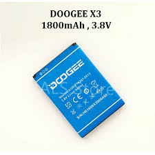 [<b>ORIGINAL</b>] <b>Battery DOOGEE</b> X3 - 1800mAh | Shopee Malaysia