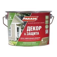 <b>Эмаль PARADE А2</b> база <b>А 2</b>,5л Белый п/мат в Балашихе - купить ...